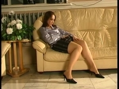 Kinky Russian MILF Judith fucks a guy