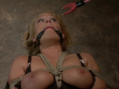 Best fetish, big tits porn video with fabulous pornstars Mellanie Monroe and Lorelei Lee from Wire.