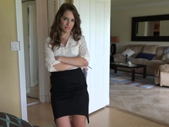 PropertySex Hot Real Estate Agent Flirts and Fucks on Camera