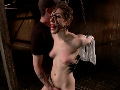 Lily LaBeau gets destroyed by grueling predicament bondage and made to cum against her will!!