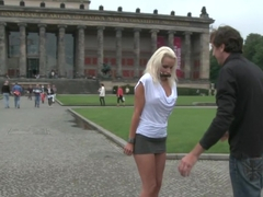 BEST OF EUROPE: Beautiful German Milf Bound and Fucked in Public