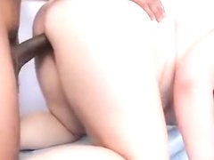 Teen BBW Harley Ann Gets Massage from Big Black Cock