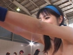 Japanese Stripped Gymnastics 1 by snahbrandy