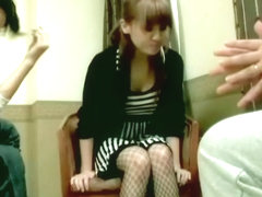 Busty cutie gets a creampie in her cunt in Asian sex video