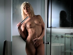 Exotic pornstar K.C. Williams in Crazy Masturbation, Romantic sex movie