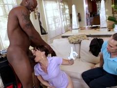Horny pornstar in Best HD, Interracial adult movie