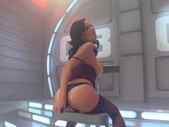 Incredible milf, fetish sex scene with best pornstar Veronica Avluv from Fuckingmachines