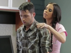 Adorable hottie Brandy Aniston takes on her patient