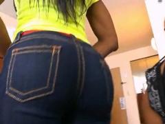 Black whore Toni Sweets enjoys sucking huge cock