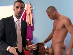 Danny Mountain,Keiran Lee and Lezley Zen in hot action