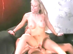 Horny pornstar Nina Ferrari in hottest blowjob, blonde xxx movie