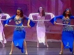 Group abdomen dance
