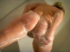 Chubby amateur sucks for a cumshot in mouth