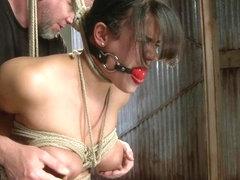 Hot MILF Tight Bondage Mind Blowing Orgasms