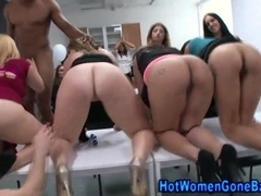 Cfnm party hotties fingered