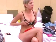 Big brother girl shows accidental nudity