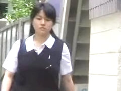 Nice Japanese broads in top sharking video made in public