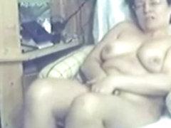 My mom home alone fingering untill she had orgasm