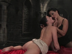 Horny fetish porn scene with hottest pornstars Ariel X and Sandra Romain from Fuckingmachines