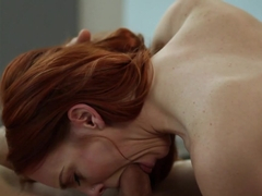 Crazy pornstar Dani Jensen in Best Redhead, Hairy porn movie