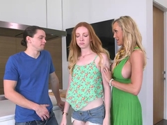 Mom Brandi Love takes care of Katy Kiss