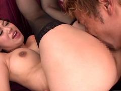 Marina Bends Over For Cock