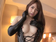 Yui Oba in Leather-Cladded Hottie Yui Loves Bondage - TeensOfTokyo
