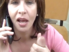 Mature MILF Blows Her Son's Dick