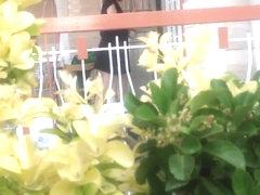 voyeur balcony sex girl