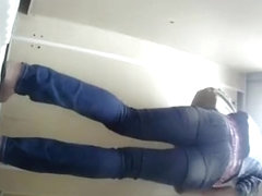 Woman spied by hidden camera peeing