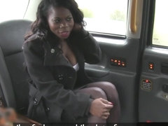 black taxi amateur assfucked and fingered