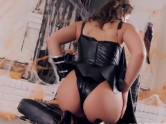 Sensual Abella Danger cosplays while fucking her man