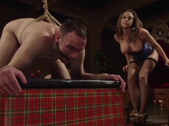 A Merry Coerced Cock-Sucking Christmas