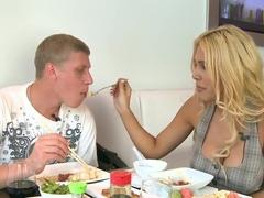 Sexy teen fuck featuring Carmel Moore
