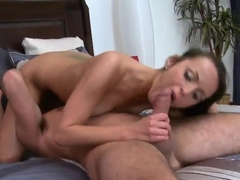 Chanel White doing a 69 position and having her pussy nailed hard