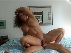 Female Body Builder YPP