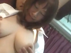 Horny Japanese chick in Exotic POV, Big Tits JAV video