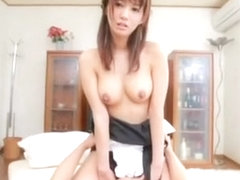 Fabulous Japanese girl Nozomi Aso in Exotic Stockings, Big Tits JAV movie
