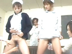 Crazy Japanese chick in Fabulous Strapon, Medical JAV movie