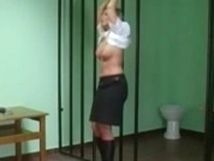 Gorgeous babes getting hard caning and flogging