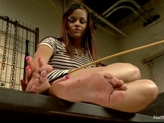 18 Year Old Foot Tortured Foot Tickle Foot Job Slut