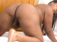Bookie Monroe in Bookie Monroe Waits For You - BlackTGirls