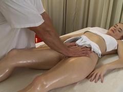 Fabulous pornstars Haven, George in Hottest Redhead, Massage sex clip