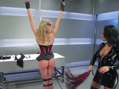 Fabulous fetish porn scene with crazy pornstars Sandra Romain and Sarah Jane Ceylon from Whippedass