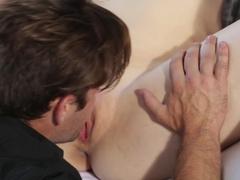 Fabulous pornstars Logan Pierce, Aria Alexander in Exotic Brunette, Romantic adult movie