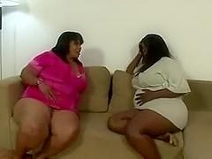 Brazilian BBWS Farting On Skinny Girl