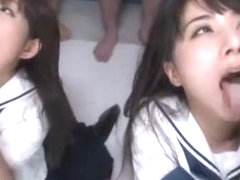 Exotic Japanese chick Mika Osawa, Yuka Osawa in Incredible POV, Group Sex JAV movie
