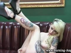 Tattooed goth bares all