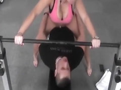 Now we know why gym was built for - sex!