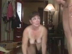 Granny showers en fuck young stud